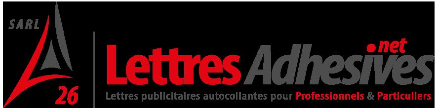 Logo Lettres Adhésives 26
