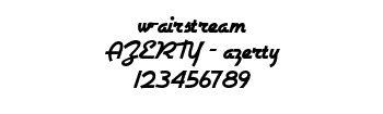 Lettrage w-airstream