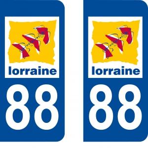 Achat de Logo autocollant 88