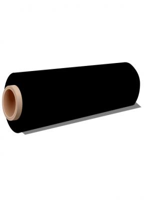 Vinyle adhésif couleur noir - image 0