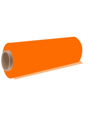 Vinyle adhésif couleur orange brillant - image 0