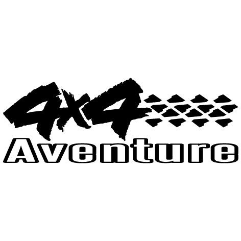 Sticker logo 4x4 aventure : 04