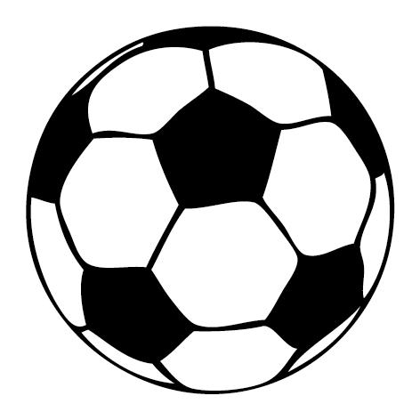 Sticker ballon de foot : SF01