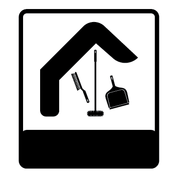 Logo maison aide nettoyage NET20