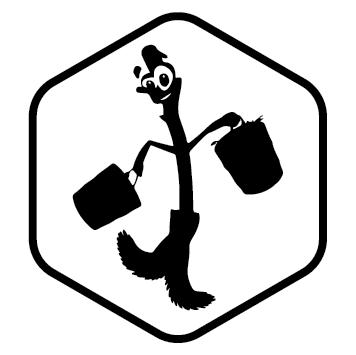 Logo ménage balai animé NET08