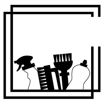 Logo ménage vaisselle NET09