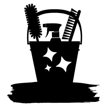 Logo seau de ménage NET15