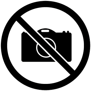 Pictogramme interdit aux photos