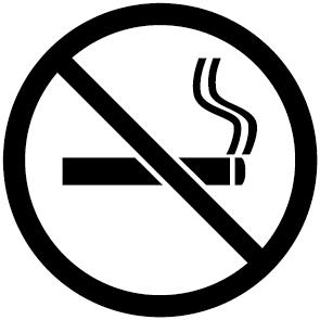 pictogramme interdit de fumer ultra r sistant petits prix lettres adh sives 26. Black Bedroom Furniture Sets. Home Design Ideas