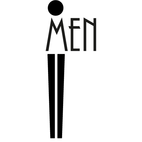 Sticker Pictogramme Men
