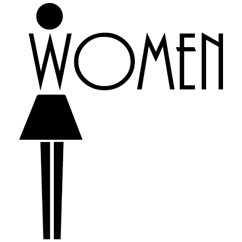 Sticker Pictogramme Women