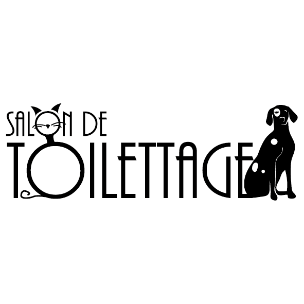 Toilettage canin lettres adh sives 26 for Salon toilettage