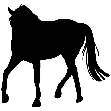 Sticker silhouette : 2