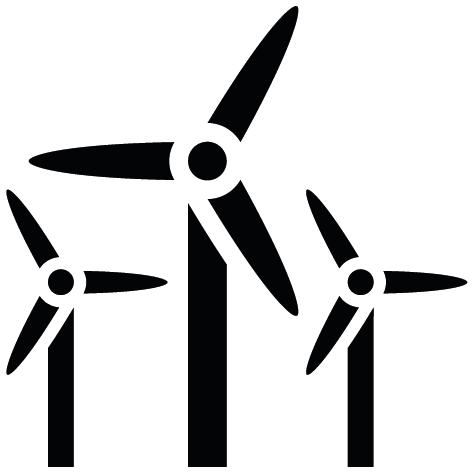Sticker éoliennes