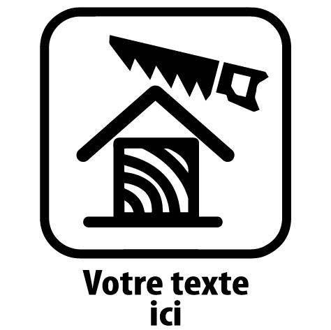 Sticker charpentier : 04