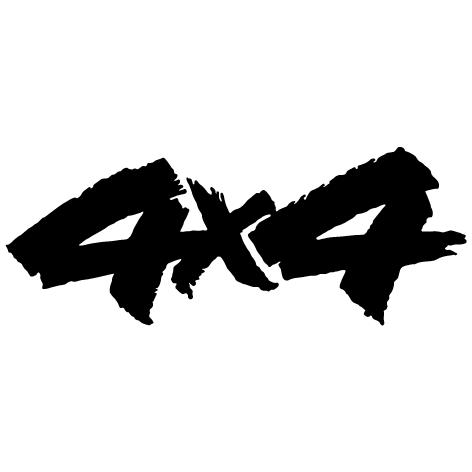 Achat Sticker 4x4 : 02