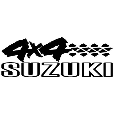 Sticker 4x4 Suzuki