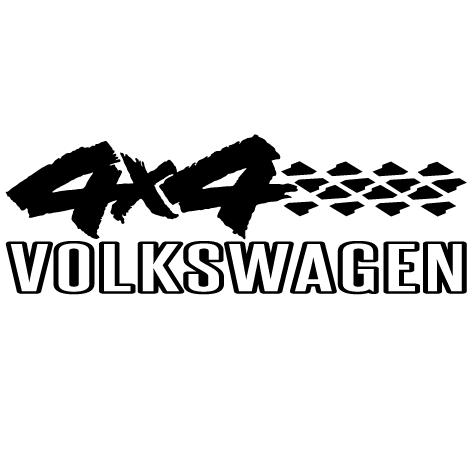 Sticker 4x4 Volkswagen