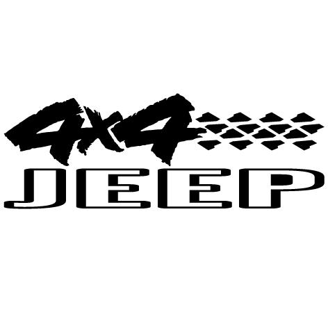 Sticker 4x4 Jeep
