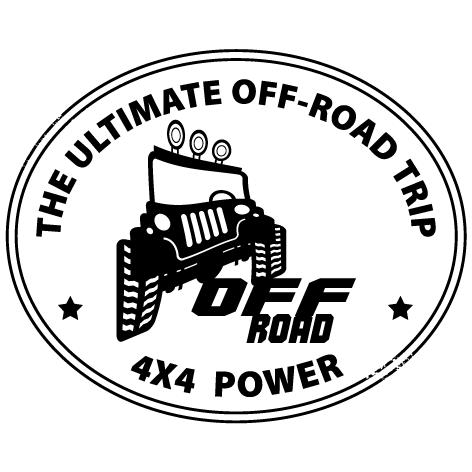 Achat Sticker 4x4 Off Road : 002