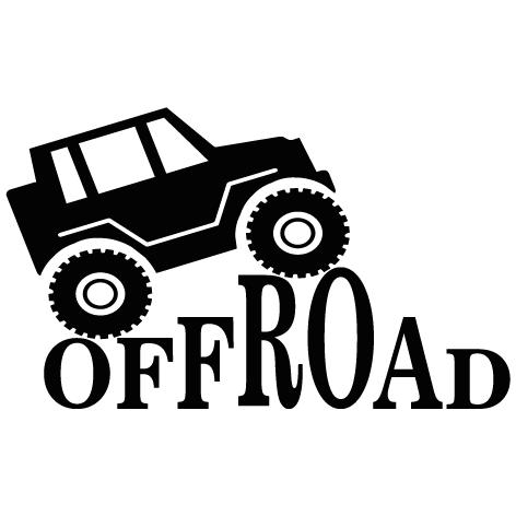Achat Sticker 4x4 Off Road : 003