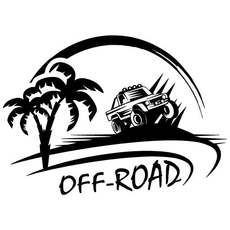 Achat Sticker 4x4 Off Road D: 005