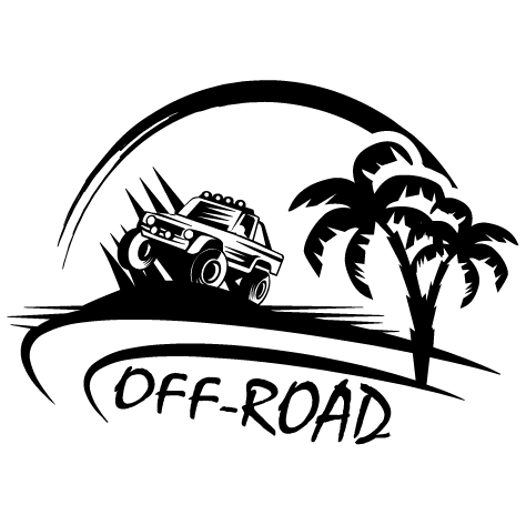 Achat Sticker 4x4 Off Road G : 006