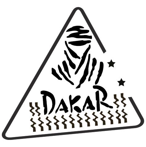 Achat Sticker Dakar G : 002