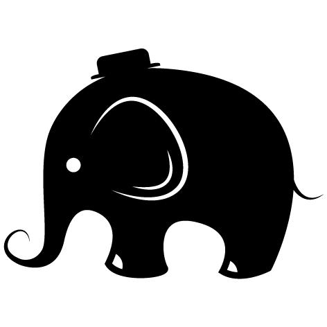 Sticker Éléphant - 02