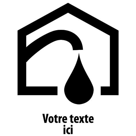 Sticker Plombier dépanneur : 01