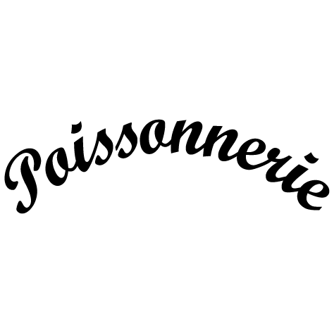 Sticker Poissonnerie arc de cercle