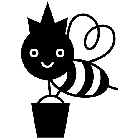 Sticker abeille 02