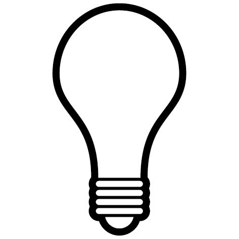Achat Sticker ampoule : SA01