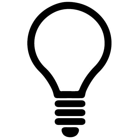 Achat Sticker ampoule : SA02