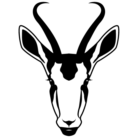 Sticker Antilope