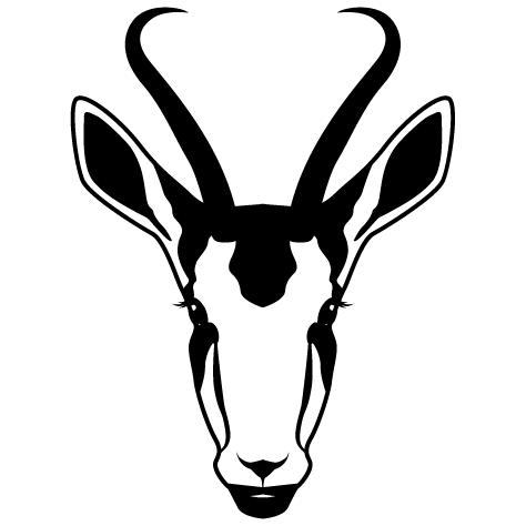 Achat Sticker Antilope
