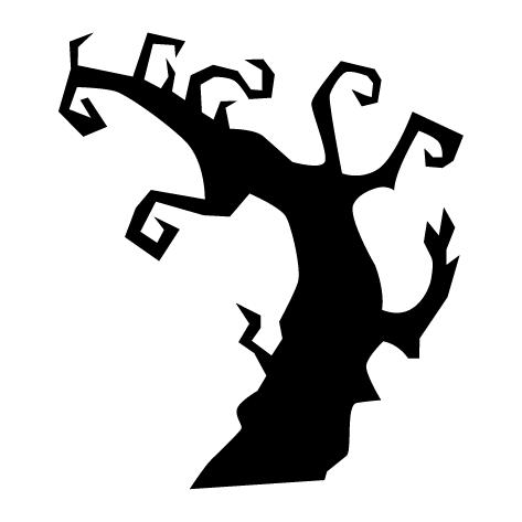 Sticker arbre mort - 04