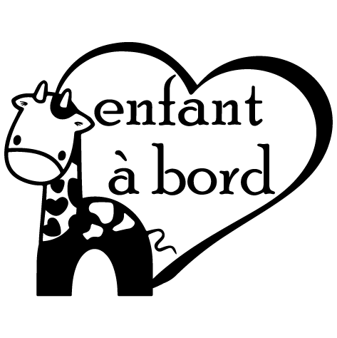 Sticker enfant à bord . 3 : SCB29