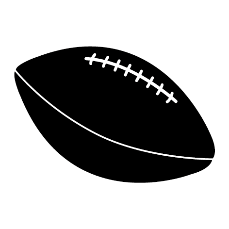 Achat Sticker ballon football américain