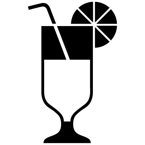 Achat Sticker bar cocktail : 010