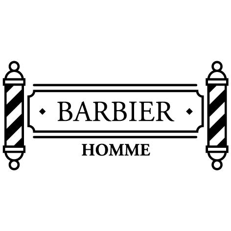 Achat Sticker barbier : 01