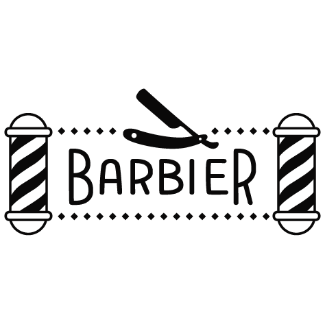 Achat Sticker barbier : 05