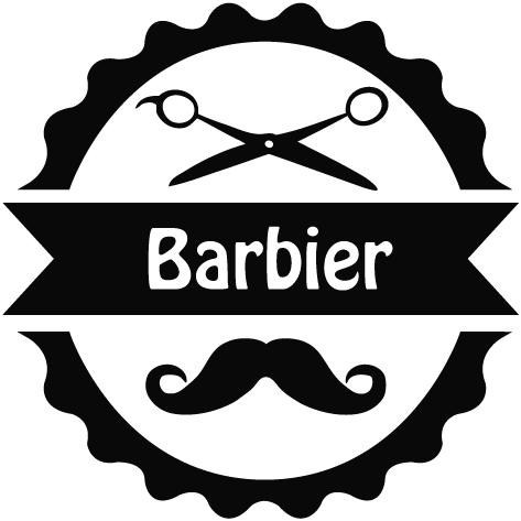 Sticker barbier : 06