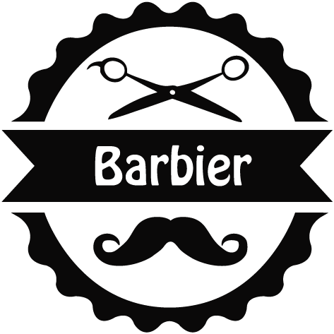 Achat Sticker barbier : 06
