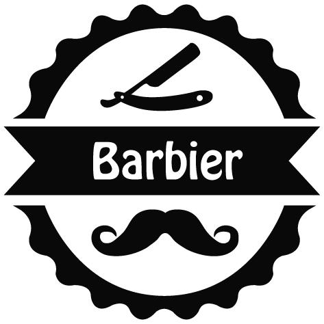 Sticker barbier : 07