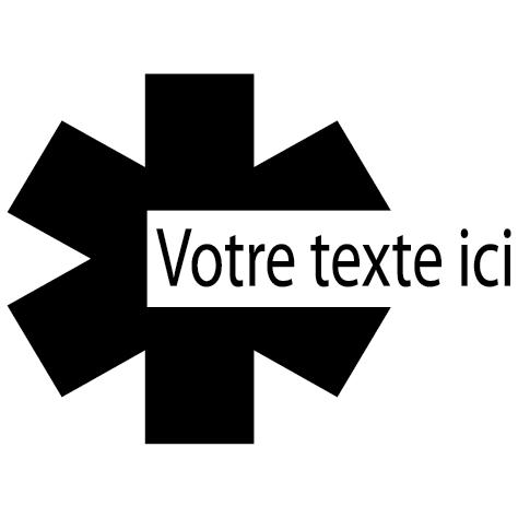 Sticker caducée : 16