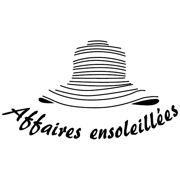 Sticker chapeau ensoleillé