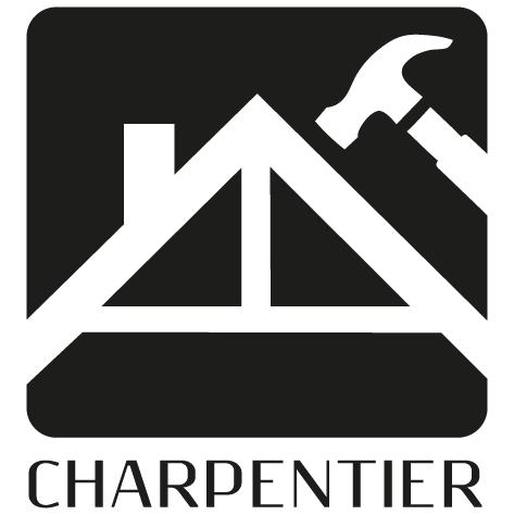 Achat Sticker charpentier : 01
