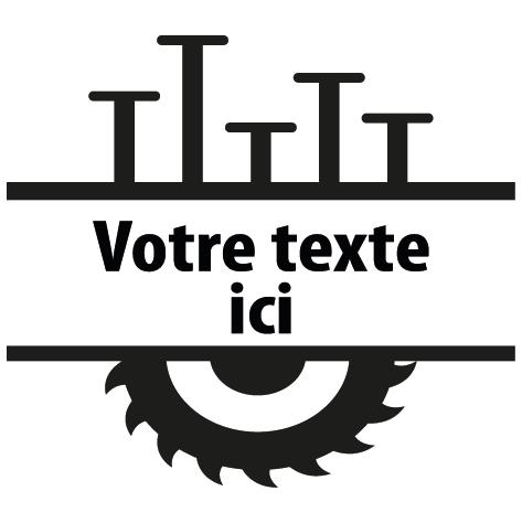 Achat Sticker charpentier : 02