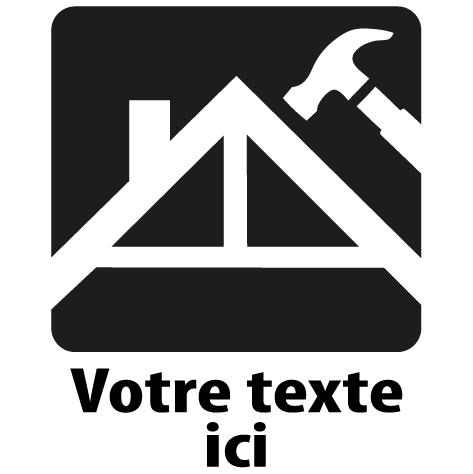 Achat Sticker charpentier : 03